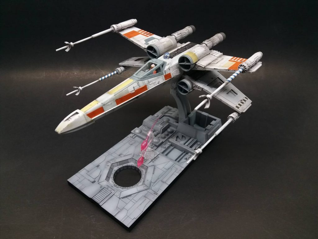 1/72 X-wing Fighter (Bandai kit) โดย joker961