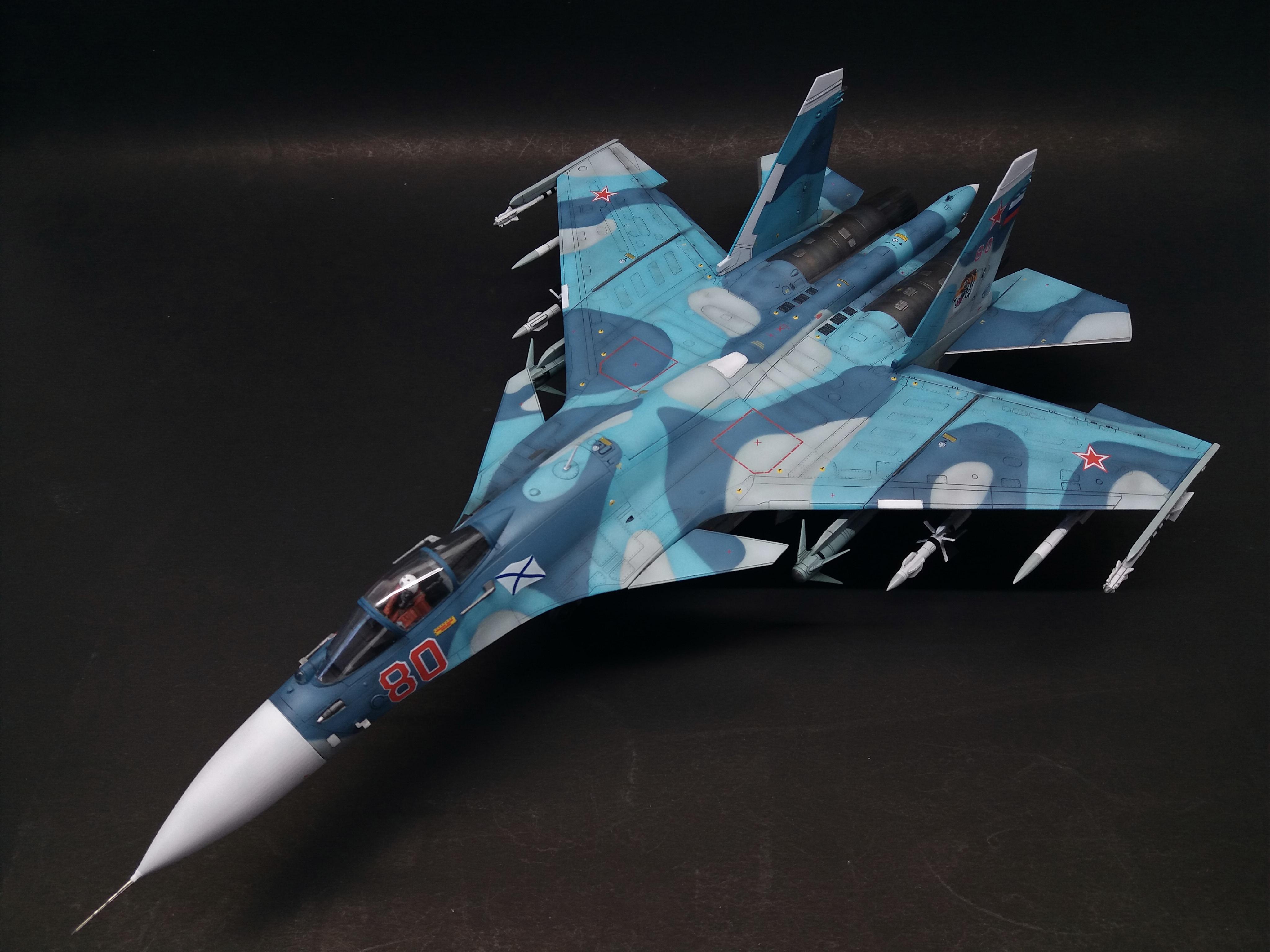(military)   1/72 Su-33 FlankerD  โดย joker961