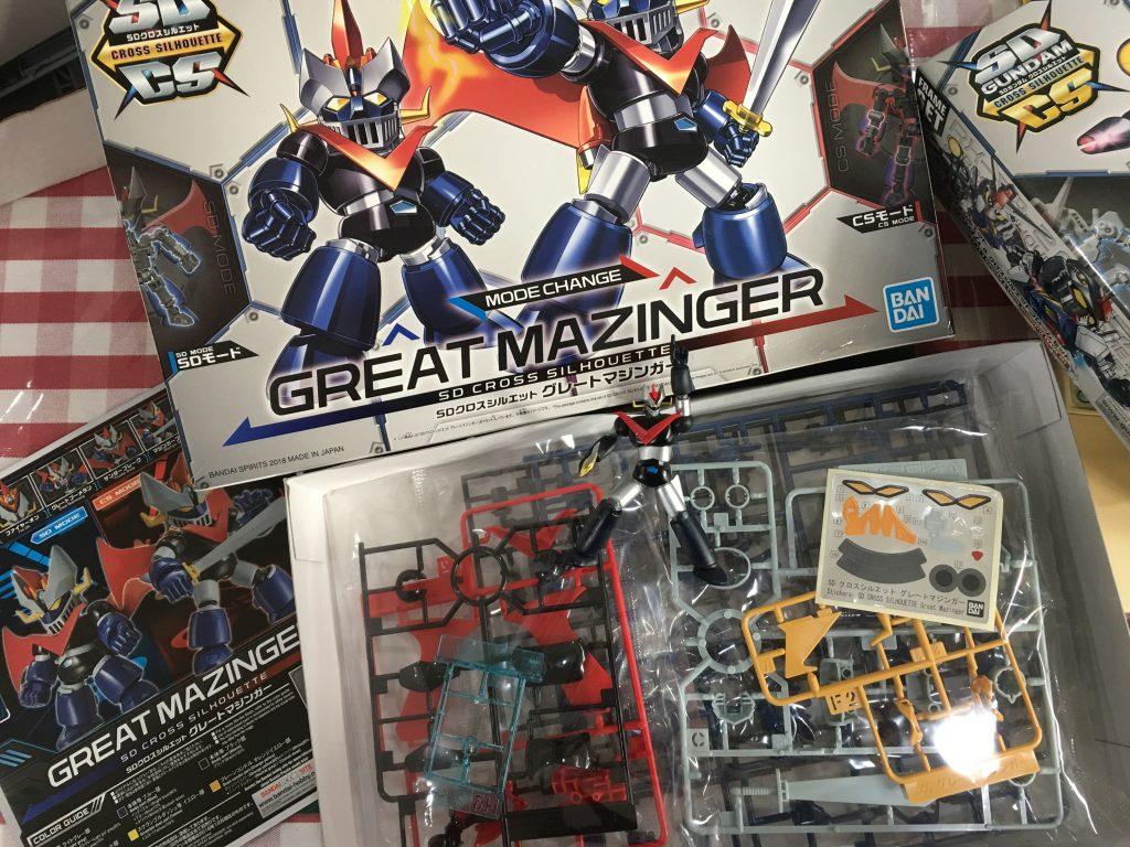 (แกะกล่องลองต่อ) SDCS Great Mazinger