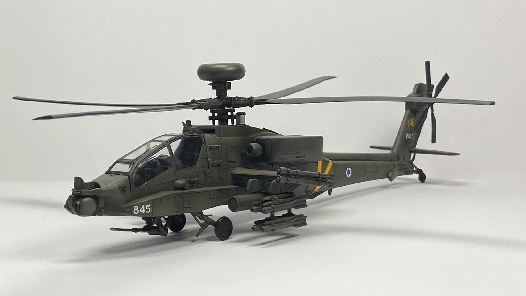 +[ShowOff] AH-64A APACHE Academy 1/48 โดย BOY