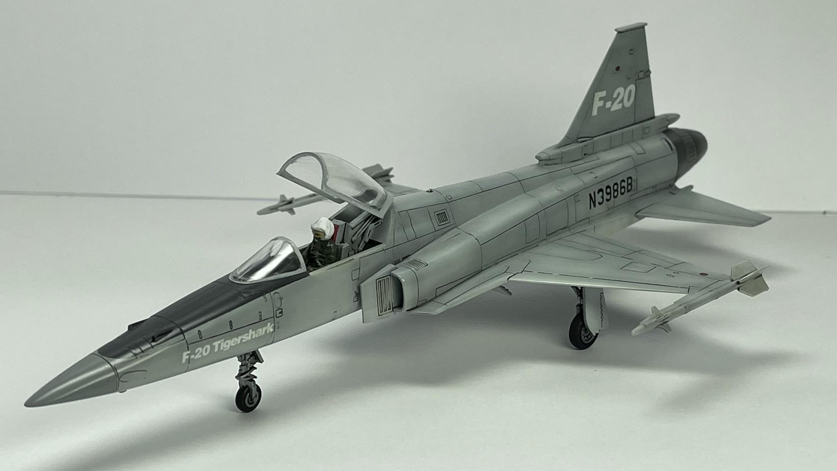 +[ShowOff] F-20 TigerShark 1/72 โดย BOY